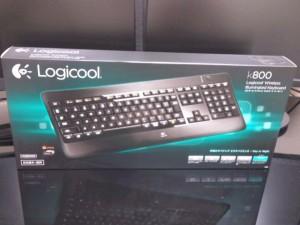 LOGICOOL ワイヤレスイルミネートキーボード K800